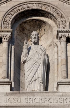 Christ in the Sacre Coeur, Montmarte, Paris, France Stock Photo - 17007221