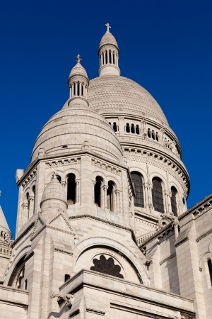 Sacre Coeur, Montmartre, Paris, France Stock Photo - 17007212