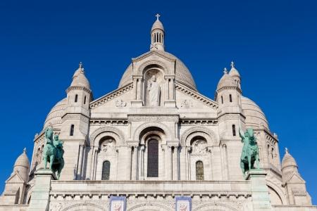 sacre: Sacre Coeur, Montmartre, Paris, France Stock Photo