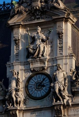 the council: City council, Paris, France Stock Photo