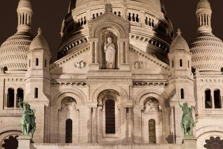 Sacre Coeur, Montmartre, Paris, France Stock Photo - 17007220