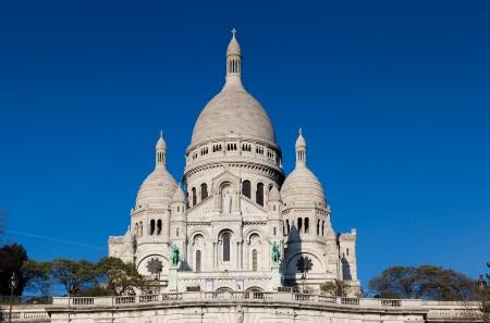 Sacre Coeur, Montmartre, Paris, France Stock Photo - 17003210