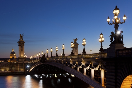 Alexander III bridge, Paris, France Stock Photo - 17651339