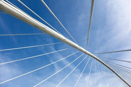 basque country: ZubiZuri bridge, Bilbao, Bizkaia, Basque Country, Spain