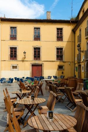 aviles: Square of Aviles, Asturias, Spain Editorial