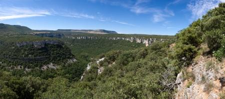 ebro: Ebro Canyons, Pesquera de Ebro, Burgos, Castilla y Leon, Spagna