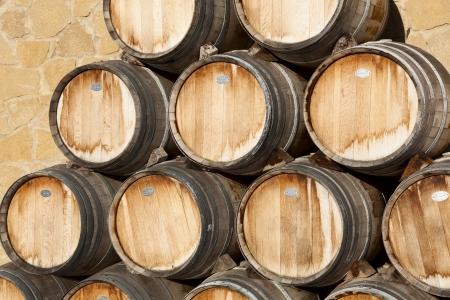 alava: Barriles de vino, Samaniego, �lava, Espa�a
