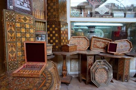 damascus: Moroccan market, Damascus, Syria