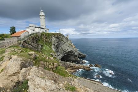 cabo: Cabo mayor lighthouse, Santander, Cantabria, Spain
