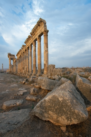 middle joint: Aphamia, Syria