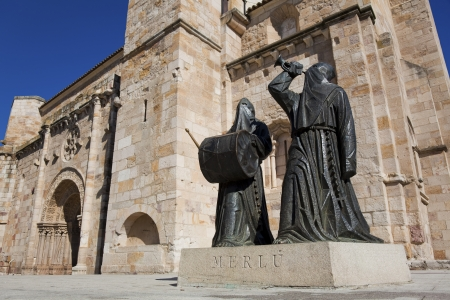 zamora: Cathedral of Zamora, Castilla y Leon, Spain Stock Photo