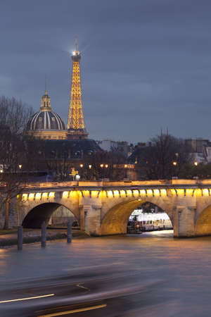 stone of destiny: Pont Neuf in Paris, France