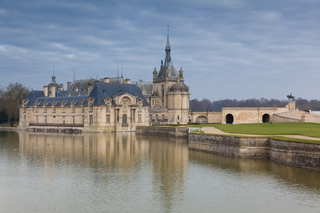 chantilly: Chantilly castle, Oise, Picardy, France