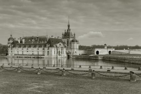 chantilly: Chantilly castle, Oise, Picardy, France