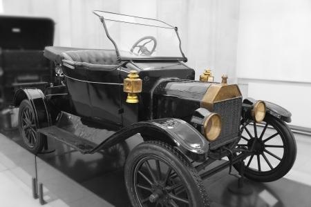 Old car, Paris, Ile de France, France