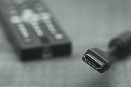 hdmi: HDMI cable Stock Photo