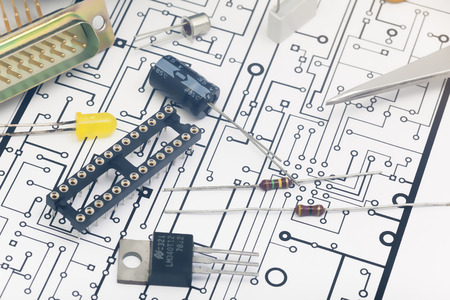 electronic components: Group of electronic components