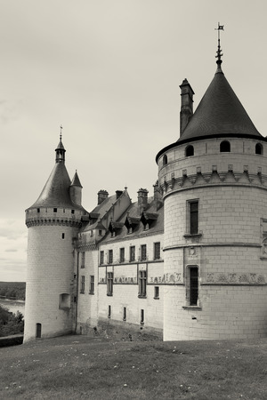 Castle of Chaumont sur loire in Loire et cher, Centre, France