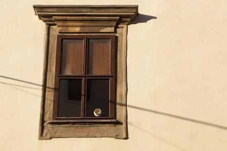 pise: Architecture of window Stock Photo