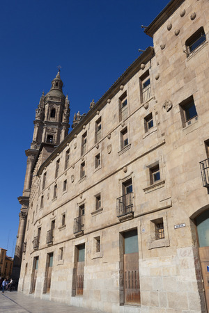 castilla: Street of Salamanca, Castilla y Leon, Spain Stock Photo