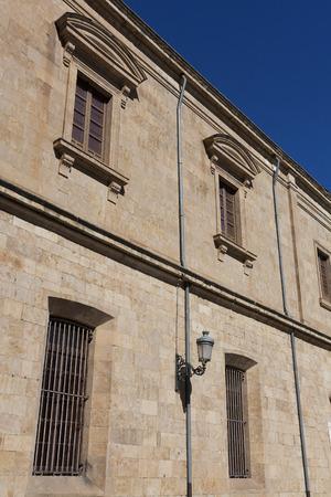 castilla y leon: Street of Salamanca, Castilla y Leon, Spain Stock Photo