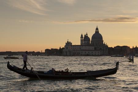 veneto: Gondolier in Venice, Veneto, Italy