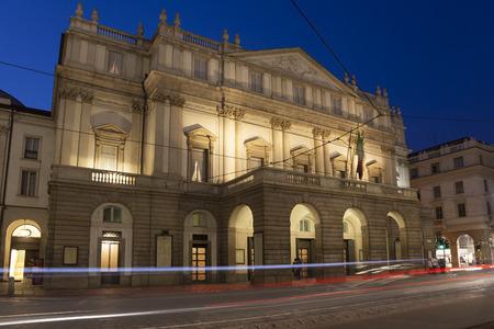 scala: La Scala Opera House, Milan, Lombardy, Italy Editorial