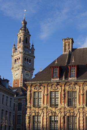 Architecture of Lille, Nord-Pas-de-Calais, France