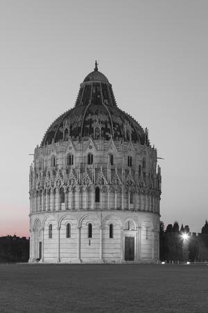 Baptistery, Piazza dei Miracoli, Pisa, Tuscany, Italy photo