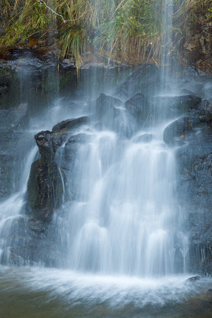 pas: Waterfall in the Pas Valley, Cantabria, Spain