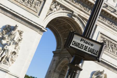 charles de gaulle: Charles de Gaulle square, Paris, Ile-de-france, France