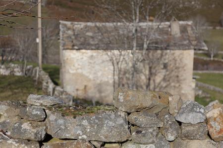 defile: Estacas de Trueba defile, Burgos, Castilla y Leon, Spain