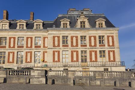 ile de france: Castle of Versailles, Ile de France, France Stock Photo