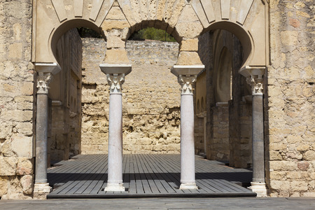 the old architecture: Madinat al-Zahra, Medieval Archaeological Complex, Cordoba, Andalusia, Spain
