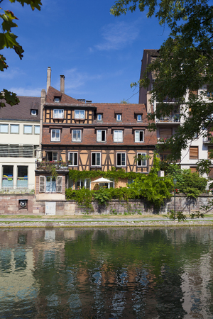 alsace: View of Strasbourg, Bas-Rhin, Alsace, France
