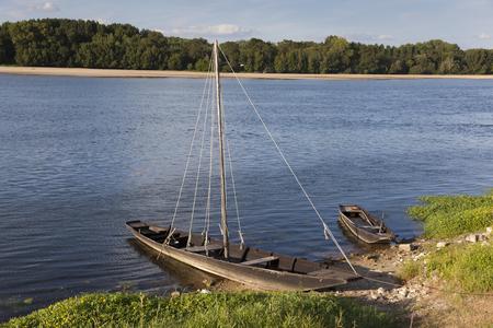 pays: Loire river in Montsoreau, Maine-et-Loire, Pays de la Loire, France