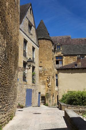 aquitaine: Architecture of Sarlat-la-caneda, Dordogne, Aquitaine, France