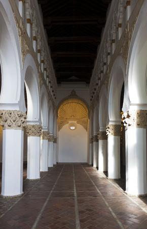 synagogue: Synagogue of Santa Maria la Blanca, Toledo, Castilla La Mancha, Spain Editorial