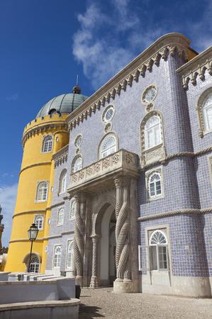 the pena national palace: Pena national palace, Sintra, Portugal Editorial