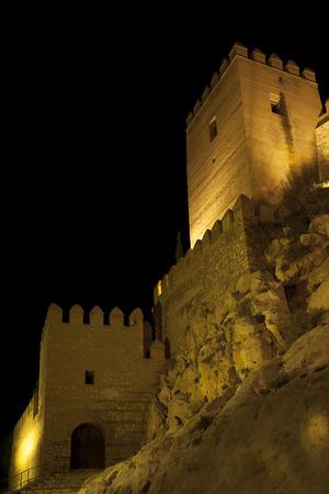 alcazaba: Alcazaba in Almeria city, Andalucia, Spain