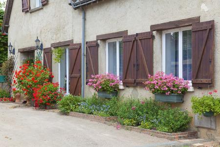 pays: Architecture of  Lavardin, Sarthe, Pays de la Loire, France Editorial