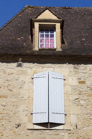 aquitaine: Architecture of Beynac-et-Cazenac, Dordogne, Aquitaine, France