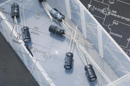 Capacitors: Electronic capacitors