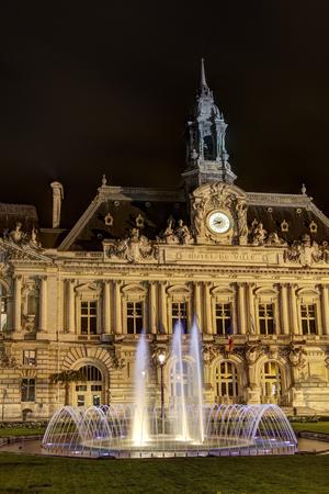 council: City council of Tours, Indre-et-Loire, France Stock Photo