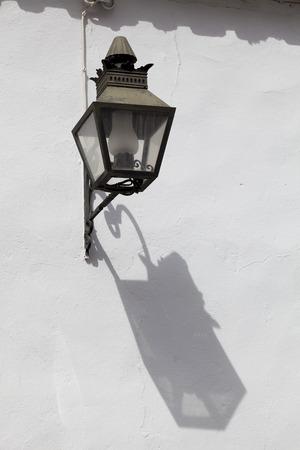 cordoba: Streetlamp in Cordoba, Andalucia, Spain