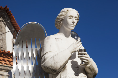 nord: Angel in the Sanctuary of Sameiro, Braga, Nord, Portugal
