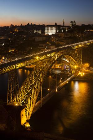 luis: Dom Luis I Bridge, Porto, Portugal