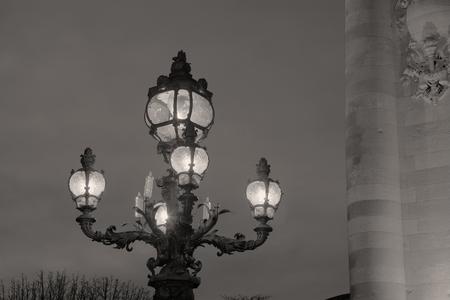 alexandre: Alexandre III bridge, Paris, Ile-de-france, France Stock Photo