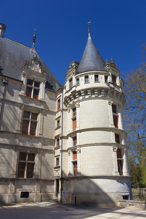Castle of Azay-le-Rideau, Indre-et-Loire, France