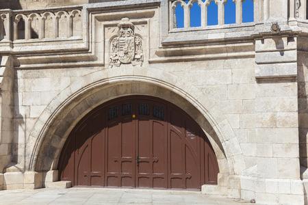 castilla y leon: Door in the cathedral of Burgos, Castilla y Leon, Spain